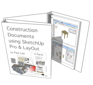 SketchUp Training eBook | PaulTheCAD